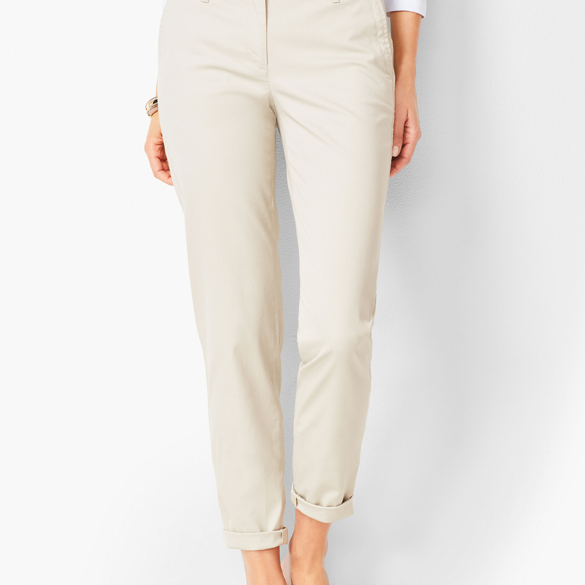 29919c09d2b Images. Girlfriend Chinos - Solid