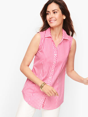 Perfect Shirt - Sleeveless - Gingham