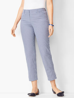 Perfect Crops - Curvy Fit/Gingham