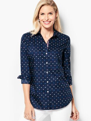 The Classic Casual Shirt - Multi-Color Clip Dots
