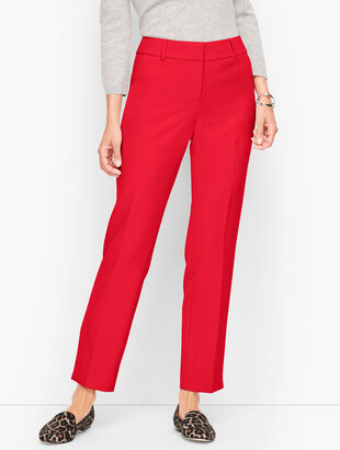 Talbots Hampshire Ankle Pants - Curvy Fit - Solid