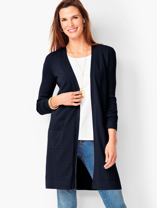 Pima Open-Front Duster