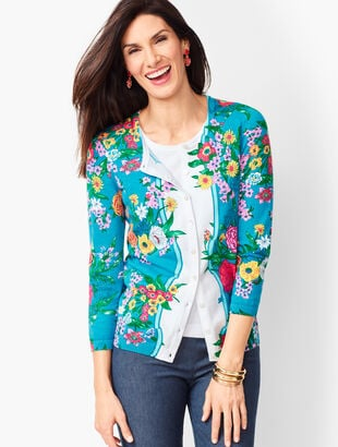 65013c59790089 Charming Cardigan - Blossoms