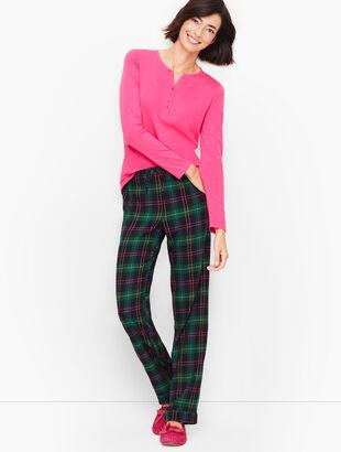 Pajama Set - Talbots Tartan
