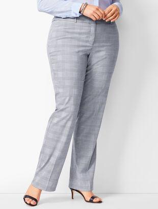 Glen Plaid Barely Boot Pants