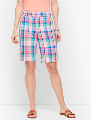 "Perfect Shorts - 10.5"" - Madras"