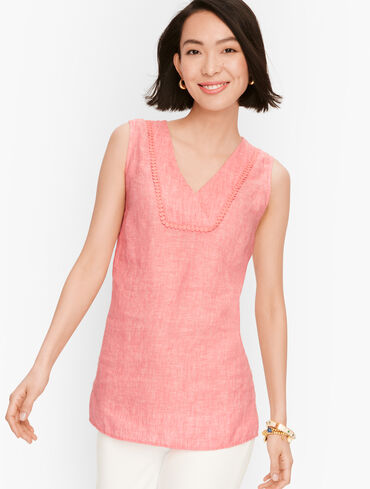 Linen Shell - Cross-Dye