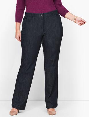 Wide Leg Jeans - Rivington Wash