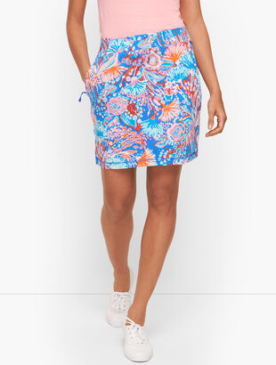 Everyday Yoga Skort - Flowing Floral