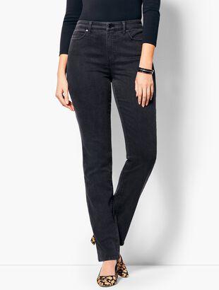 High-Waist Straight-Leg Jean - Curvy Fit/Galaxy Wash
