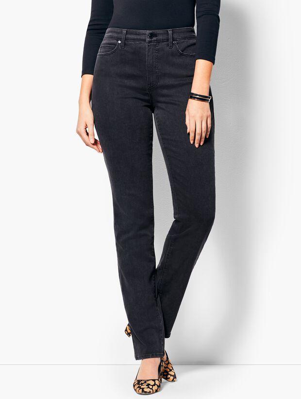 High-Rise Straight-Leg Jean - Curvy Fit/Galaxy Wash