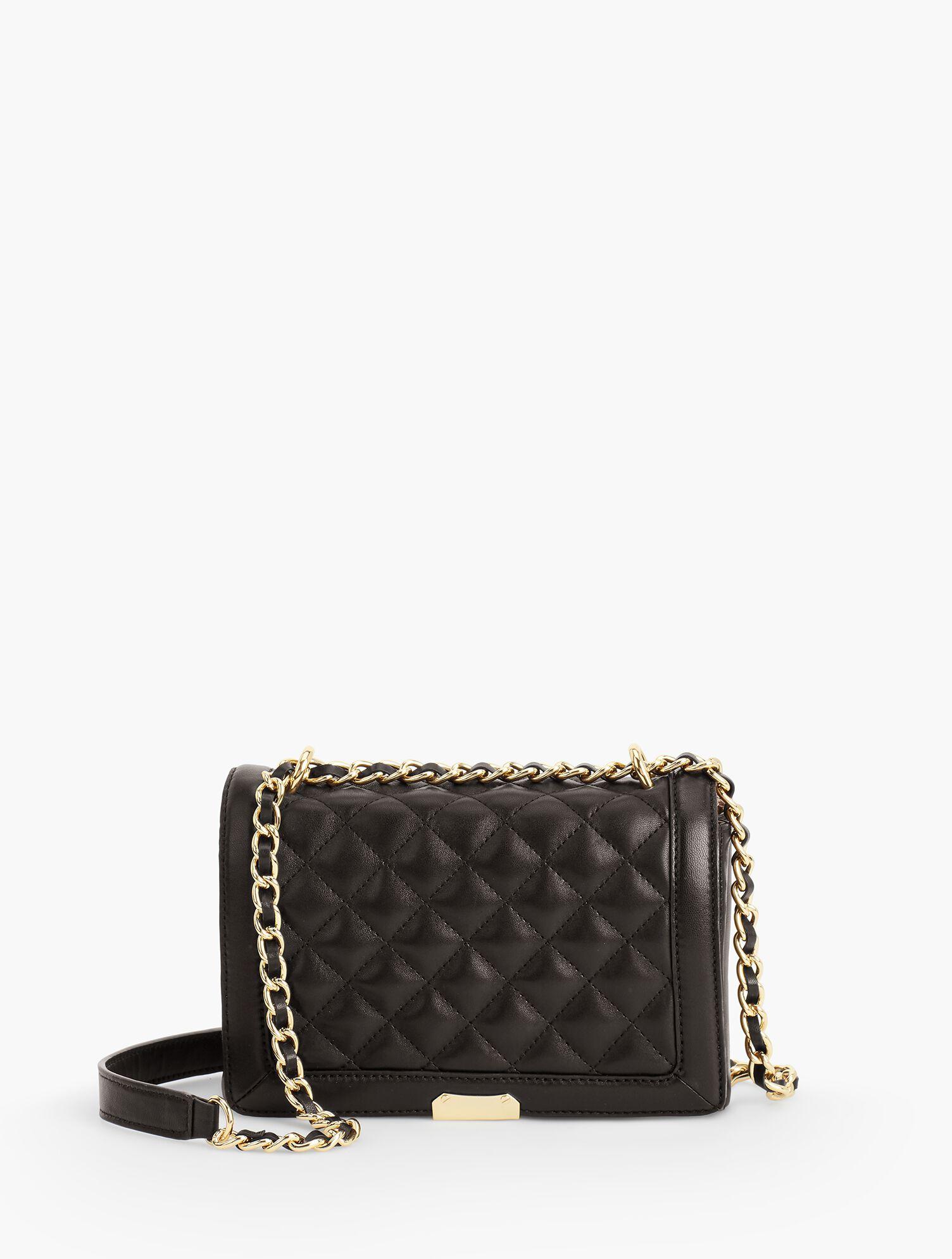 Quilted Chain-Strap Handbag | Talbots