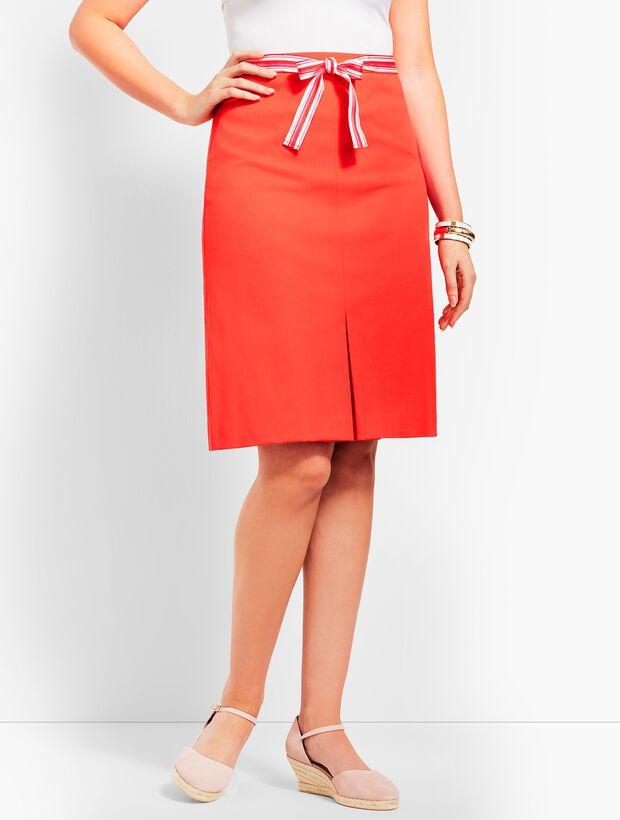 Ribbon-Tie Skirt