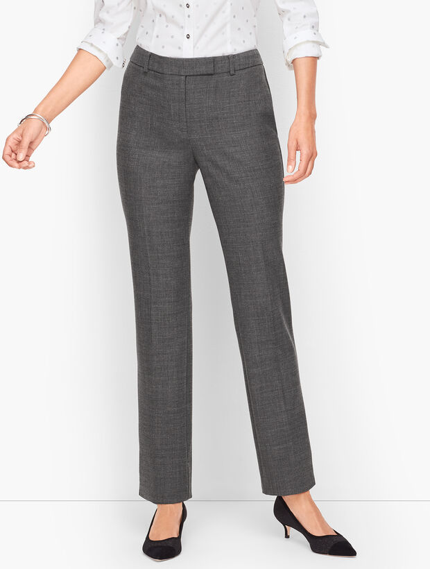 Wool Blend Bi-Stretch Pants