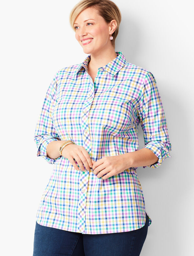 Classic Cotton Shirt - Colorful Gingham