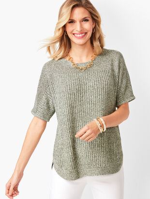 Marled Linen Sweater