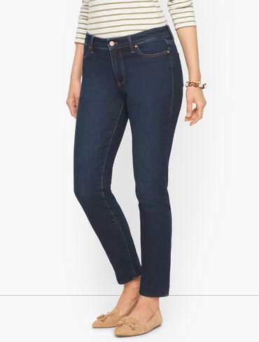 Slim Ankle Jeans - Meteor Wash - Curvy Fit