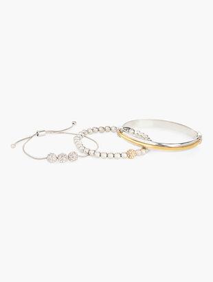 Triple Bracelet & Bangle Set