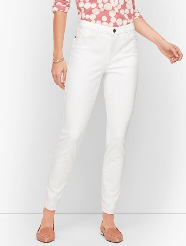 Jeggings - Curvy Fit - White