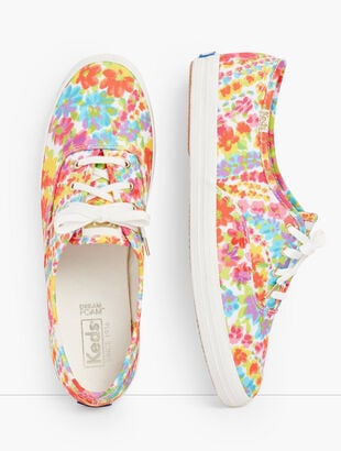 Keds® Champion Sneakers - Talbots Exclusive Floral