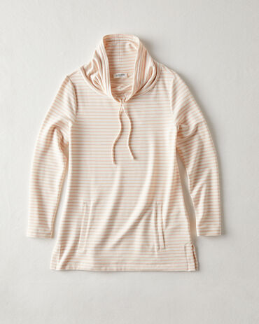 French Terry Summit Stripe Top