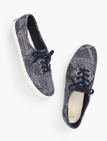Keds® Champion Cotton Sneakers