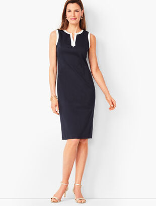 Monterey Cotton Sheath Dress