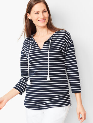 Braided Stripe Top