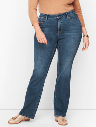Plus Size Barely Boot Jeans - Lexington Wash - Curvy Fit