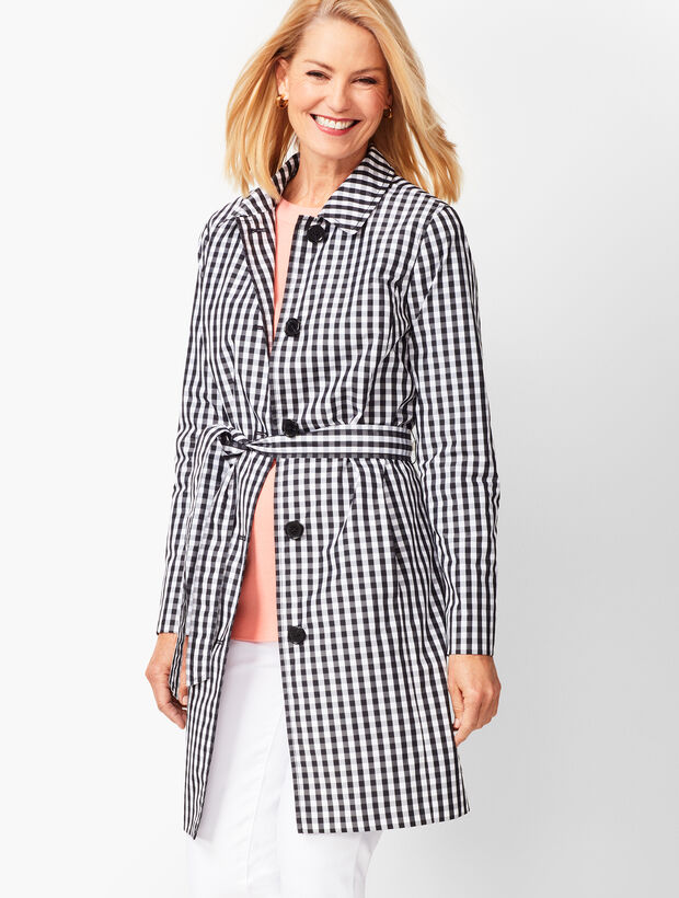bcdbf7a2ca Images. Gingham Trench Coat