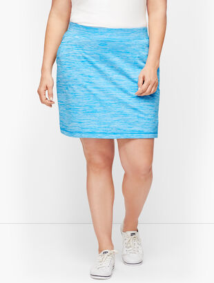 UPF 50+ Striated Yoga Skort