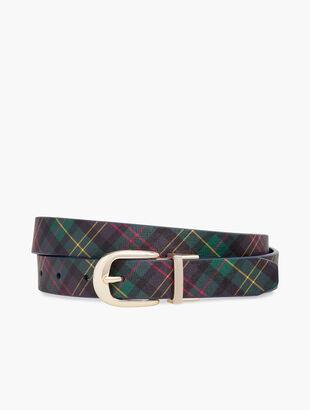 Festive Reversible Belt