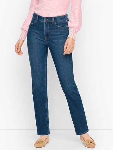 Sculpt Straight Leg Jeans - Horizon Wash