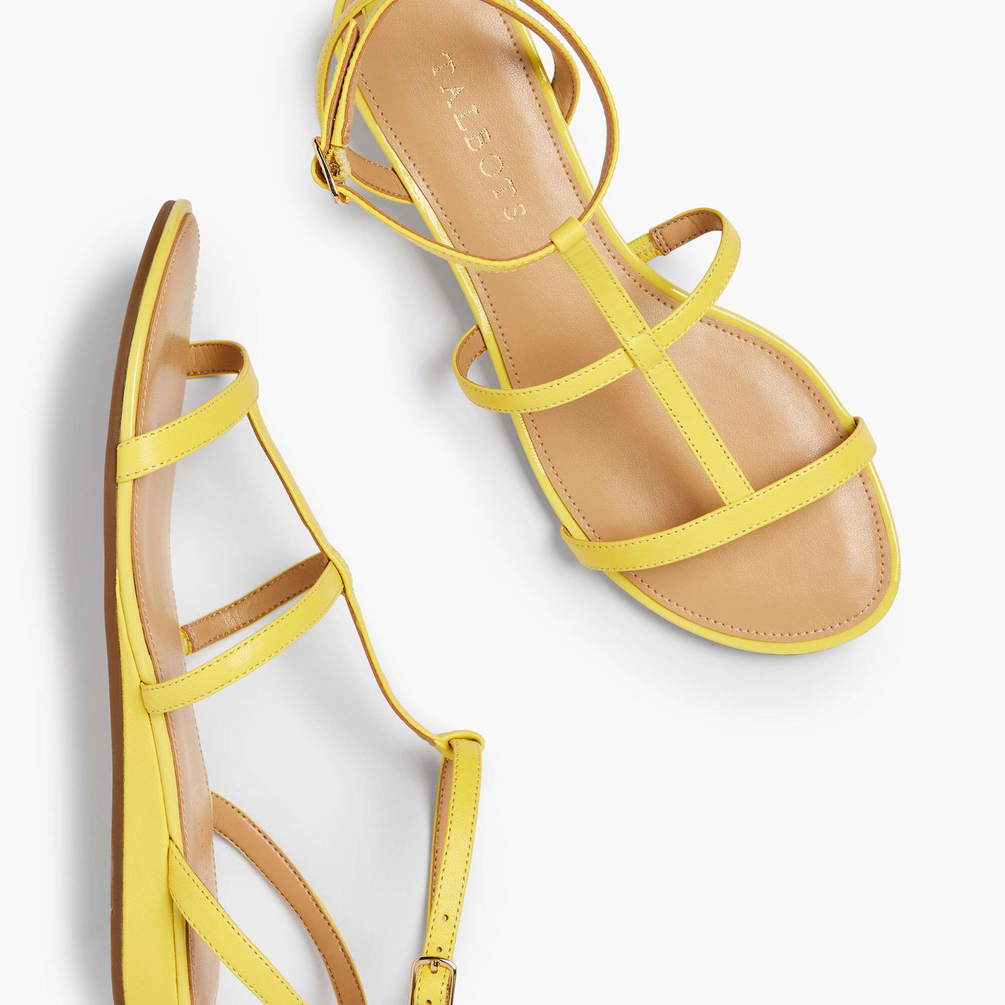 24c4d72f561 Daisy Gladiator Micro-Wedge Sandals - Nappa Leather Opens a New Window.
