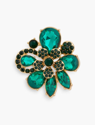 Evergreen Statement Brooch