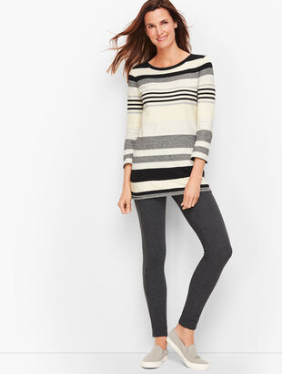 Mixed Stripe Multicolor Pullover