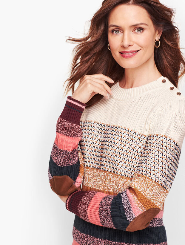 Textured Stripe THERMOLITE® Sweater