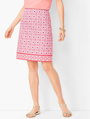 aaad3988fa Canvas Cotton A-Line Skirt