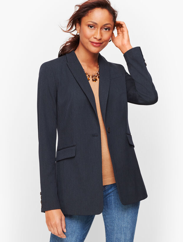 Long Blazer - Chambray