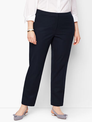 Plus Size Talbots Hampshire Ankle Pants - Curvy Fit