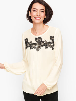 Lace Detail Popover