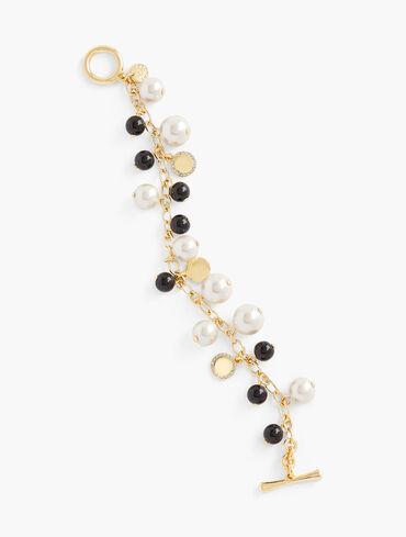 Polished Pearls Bracelet