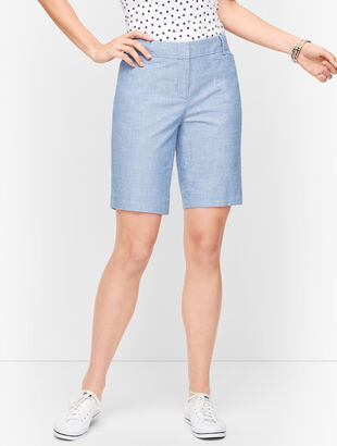 "Perfect Shorts - 9"" - Chambray"
