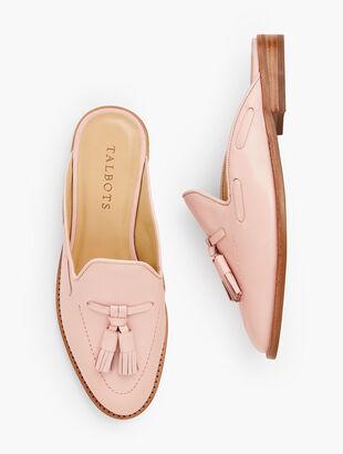 Leighton Leather Mules