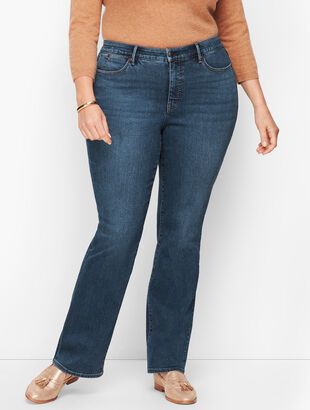 Plus Size Barely Boot Jeans - Lexington Wash
