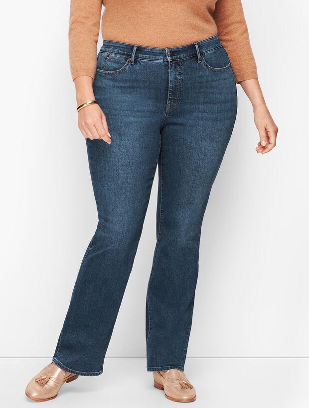 Plus Size Barely Boot Jeans - Lexington Wash
