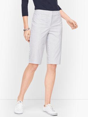 "Perfect Shorts - 13"" - Railroad Stripe"