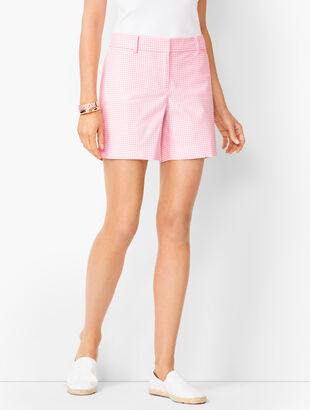 Perfect Shorts - Short Length - Gingham