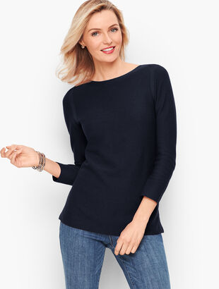 Link Stitch Sweater