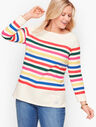 Authentic Talbots Tee - Candy Cane Stripe